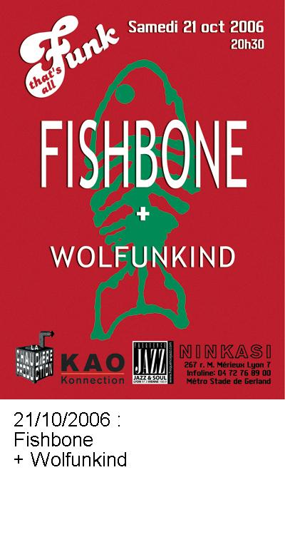 Fishbone et Wolfunkind