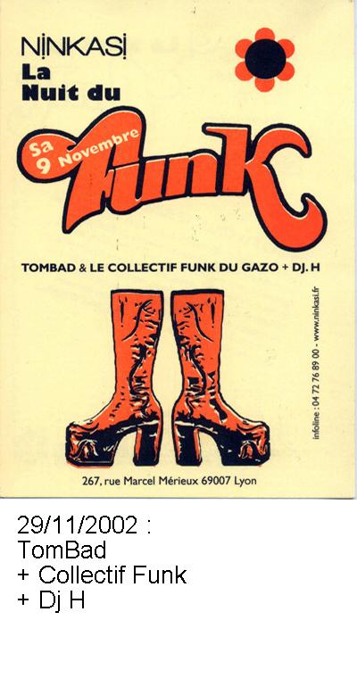 TomBad et Collectif Funk et Dj H